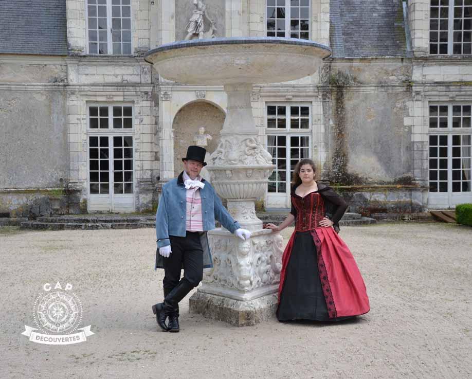 chasse au trésor au château de Villesavin