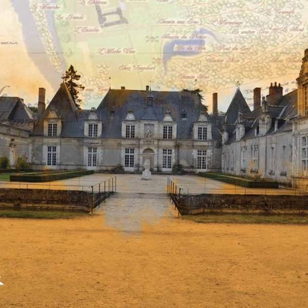 chasse au trésor dans le parc du château de Villesavin
