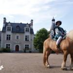 le roi à cheval