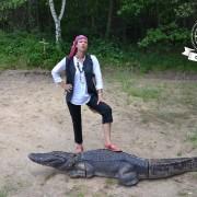 pirate et crocodiles en loir et cher