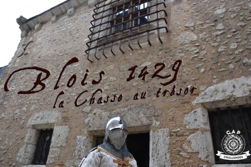 Blois 1429 est une chasse au trésor dans les châteaux de la Loire en Val de Loire