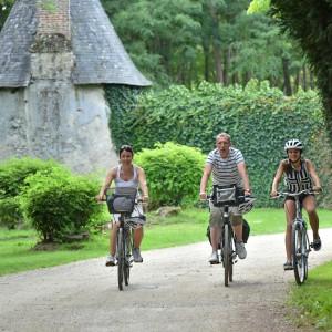 Château de Villesavin, Itinérance à vélo dans la région Centre, dep41, Comité Régional du Tourisme Centre-Val de Loire, France