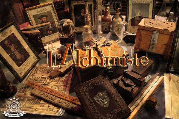 presentation alchimiste escape game