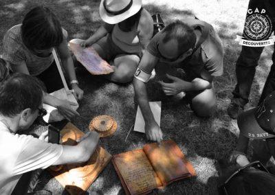 chasse-au-trésor-et-vieux-outils
