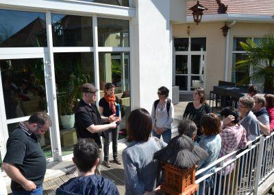 team building séminaire beauval jardin