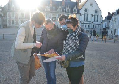 Jeu de piste à Blois